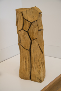 Cut Corners Column, David Nash