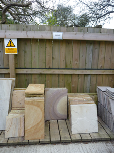 Indian sandstone, stone merchants
