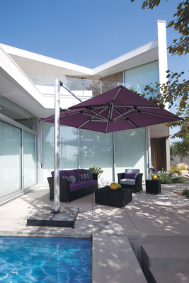 Cantilevered Parasol