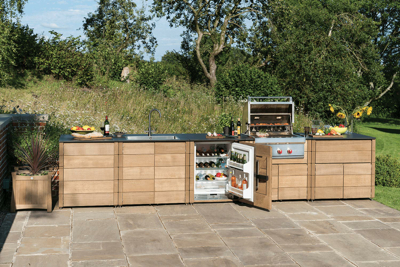 Gaze Burvill outdoor kitchen