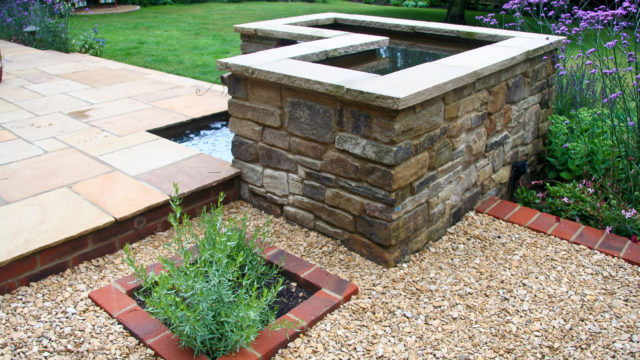 stone gravel brick