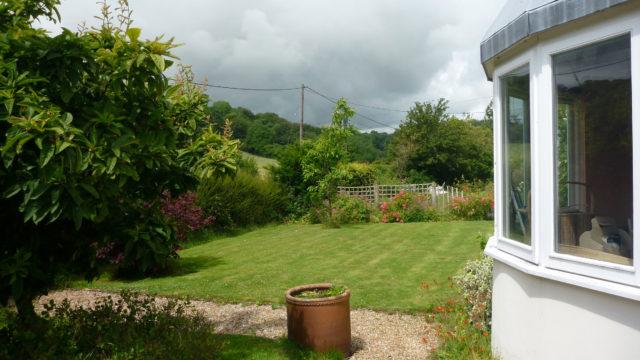 BEFORE front garden