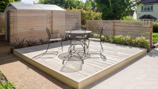 Farnham minimalist garden