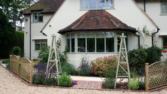 Haslemere front garden