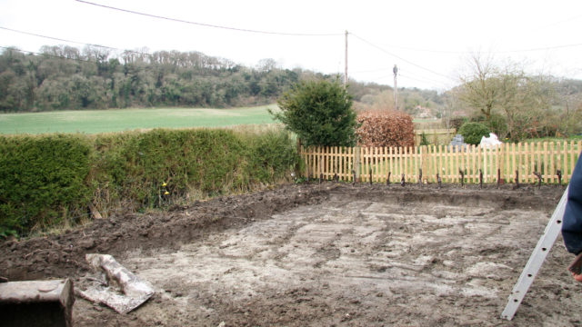 LANDSCAPING front garden