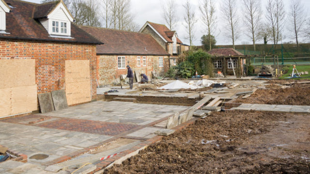 LANDSCAPING paving, brickwork, brick walls