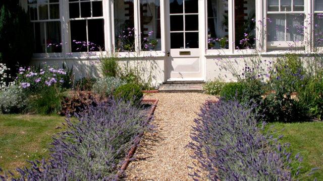 Winchester lavender path